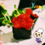 Photo taken at The Sushi Bar 5 @ Thiên Sơn Plaza by Xi Muoi on 3/2/2014