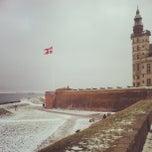Photo taken at Kronborg Slot by Denis B. on 2/17/2013