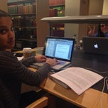 Photo taken at Rose Library by Jodie K. on 3/7/2014