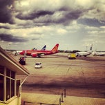 Photo taken at Международный аэропорт Пашковский / Pashkovsky International Airport (KRR) by Andrey T. on 7/25/2013