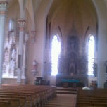 Photo taken at St. Mary's Catholic Church by Liz G. on 7/3/2012