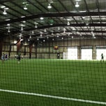 Photo taken at Indoor Sports Arena by Erick 'EAlexStark' R. on 5/13/2012