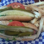 Photo taken at Johnny's Hot Dogs and Gyros by Todor K. on 8/9/2012