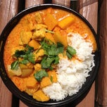 Photo taken at Thai Curry Simple by Felice L. on 5/16/2012