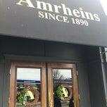 Photo taken at Amrheins Restaurant by Christopher L. on 3/16/2012
