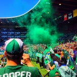 Photo taken at Providence Park by Dannon R. on 5/1/2013