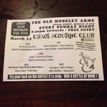 Photo taken at Old Moseley Arms by Tamar W. on 3/16/2014
