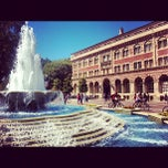 Photo taken at University of Southern California by Jacob C. on 9/19/2012