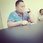 Photo taken at Harian Tribun Manado by Gladys Sulangi on 3/21/2014