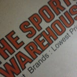Photo taken at The Sports Warehouse by Juni S.    c',) on 2/22/2013