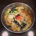 Photo taken at 멸치국수 잘하는집 by 05 Y. on 5/10/2014