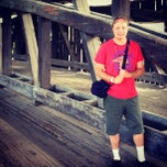 Photo taken at Covered Bridge At Shelburne Museum by Jon S. on 8/18/2013