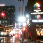Photo taken at Greektown Historic District by Kevan D. on 2/8/2015