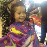 Photo taken at Sharkeys Cuts For Kids. by Yolanda V. on 3/10/2013
