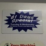 Photo taken at Maytag Laundromat by Liz M. on 9/24/2014