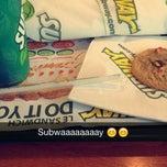 Photo taken at Subway by Nouha B. on 2/6/2015