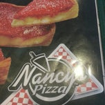 Photo taken at Nancy's Pizzeria by Annette Q. on 4/26/2013