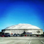 Photo taken at UNI-Dome by Cullen P. on 11/28/2012