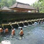 Photo taken at Pura Tirta Empul (Tirta Empul Temple) by David L. on 6/8/2012