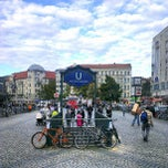 Photo taken at Hermannplatz by Moe on 9/29/2012
