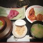 Photo taken at 三陸 by マイスマTV B. on 5/9/2014