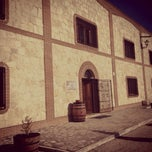 Photo taken at Bodega Matarromera by Álvaro M. on 1/11/2014