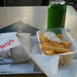 Photo taken at Syfax Kebab by Quentin P. on 6/5/2014