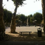 Photo taken at Piazza Napoleone by Gert v. on 8/12/2012
