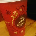 Photo taken at Caribou Coffee by Brittany N. on 12/12/2012