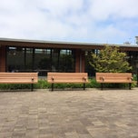 Photo taken at Merced Branch Library by Sean G. on 4/15/2014