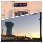 Photo taken at Gare SNCF de Cognac by David G. on 10/27/2014