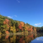 Photo taken at Moore State Park by Haritha N. on 10/12/2014