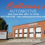 Photo taken at Callaway's Automotive by Callaway's Automotive on 5/8/2014