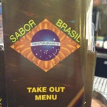 Photo taken at Sabor Brasil Restaurant by Bruno M. on 3/10/2013