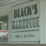 Photo taken at Blacks Barbecue by Lee W. on 6/1/2013