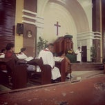 Photo taken at HKBP Tanjungsari by Mita K. on 2/16/2014