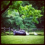 Photo taken at Pennsbury Manor State Park by Hannah H. on 6/23/2014