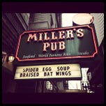 Photo taken at Miller's Pub by Aaron H. on 10/31/2012