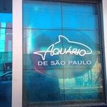 Photo taken at Aquário de São Paulo by Fernando P. on 7/11/2013