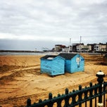 Photo taken at Margate Beach by Dominic C. on 3/1/2013