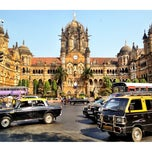 Photo taken at Chhatrapati Shivaji Terminus by Adam R. on 11/16/2012