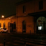 Photo taken at Stazione Suburbana Bologna Zanolini by Roberto C. on 3/24/2013