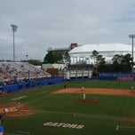 Photo taken at McKethan Stadium at Perry Field by Andrew B. on 3/1/2015