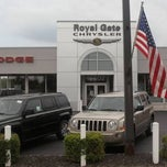 Photo taken at Royal Gate Dodge Chrysler Jeep Ram by Yext Y. on 2/26/2015