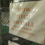 Photo taken at Greensboro Batting Center by Kyle S. on 3/20/2014