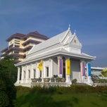 Photo taken at วัดพระราม ๙ กาญจนาภิเษก (Rama IX Golden Jubilee Temple) by Worawut P. on 12/15/2012