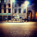 Photo taken at Fontana della Pigna by Massimiliano C. on 2/15/2013