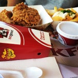 Photo taken at KFC by natasha s. on 2/22/2014