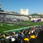 Photo taken at Ryan Field by Adam B. on 10/27/2012