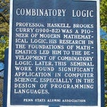 Photo taken at Combinatory Logic Historical Marker by Kirk S. on 4/7/2012
